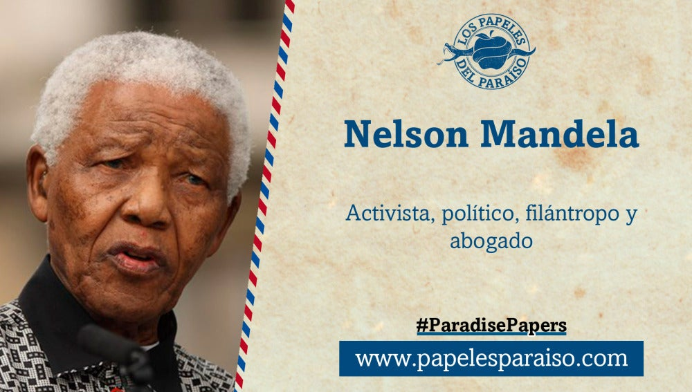 Nelson Mandela, activista, político, filántropo y abogado