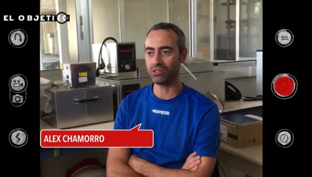Alex Chamorro fue voluntario durante la tragedia del Prestige