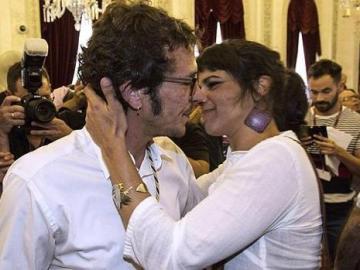 Teresa González y José María González, Kichi.