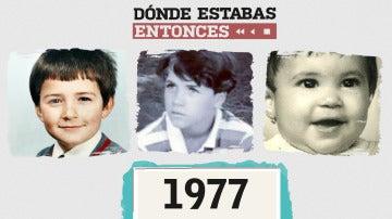 Famosos que nacieron en 1977