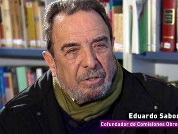 Eduardo Saborido, cofundador de Comisiones Obreras