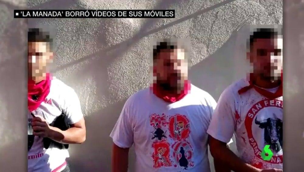Tres de los miembros de 'La Manada' acusados de violación