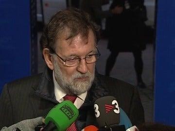 """Rajoy, sobre la presunta amenaza de la que le acusa Rovira: """"Es una enorme mentira y sobre todo es una vergüenza"""""""