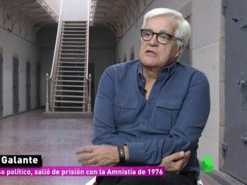 Chato Galante, expreso político que salió de prisión en 1976