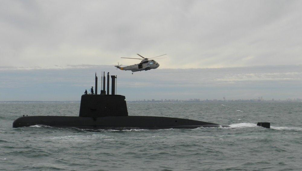 Búsqueda del submarino argentino