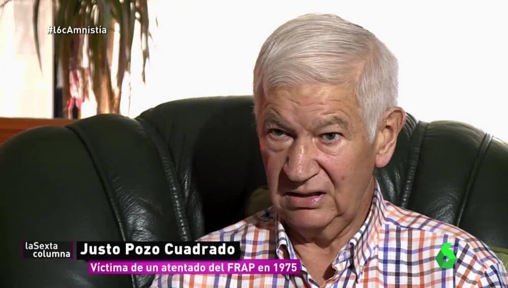 Justo Pozo Cuadrado, víctima de un atentado del FRAP en 1975