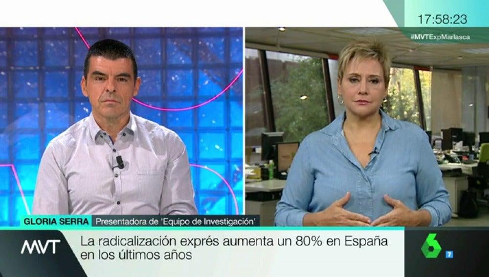 Gloria Serra en MVT