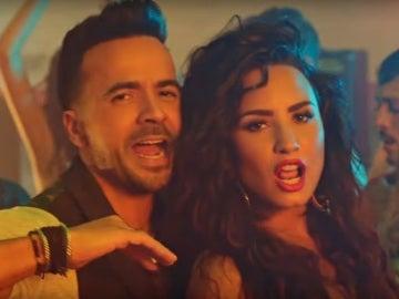 Luis Fonsi y Demi Lovato cantan juntos