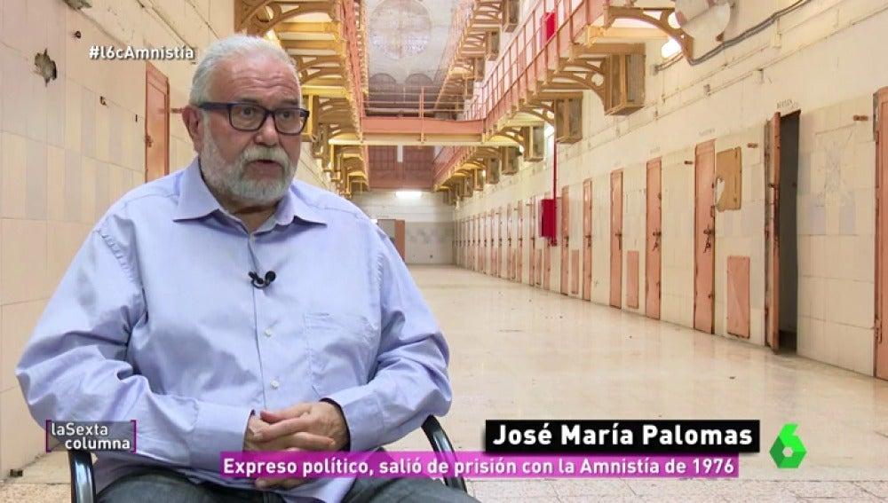 José María Palomas, expreso político
