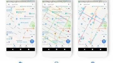 Rediseño de Google Maps