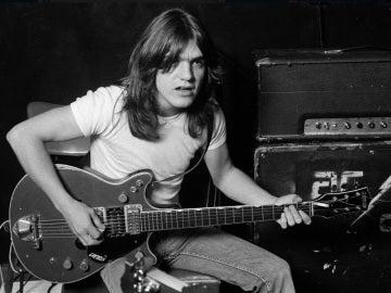 Malcom Young, guitarrista y cofundador de AC/DC
