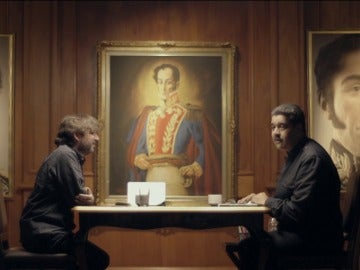 Jordi Évole y Nicolás Maduro