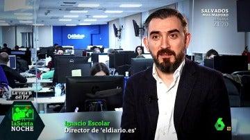 Ignacio Escolar habla sobre los discos duros de Bárcenas