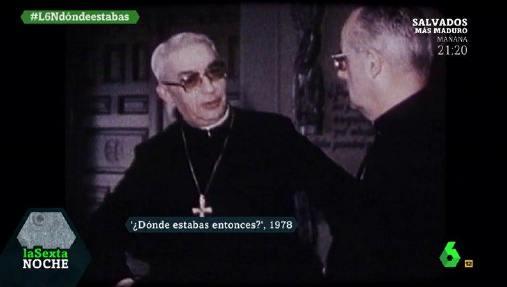 Imagen del Cardenal Tarancón