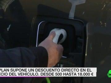 Carga de un vehículo eléctrico