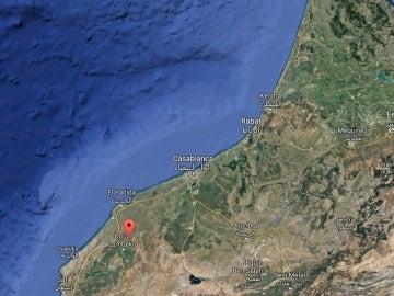 Localización de Sidi Boualam