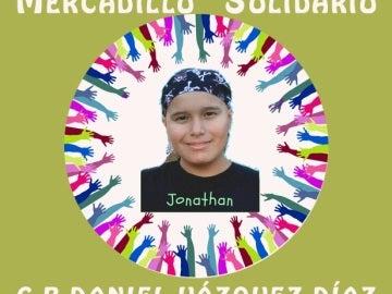 Mercadillo solidario 'Todos con Jony'