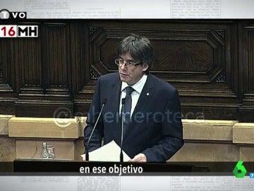 Carles Puigdemont, en 2016