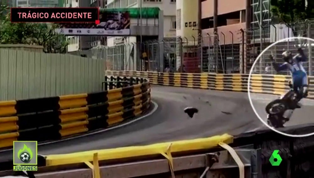El terrible accidente que le costó la vida a Daniel Hegarty en Macao