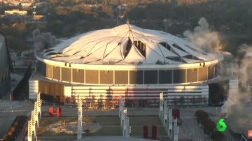 Demolición del estadio de Atlanta