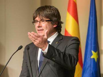 El expresidente de la Generalitat catalana Carles Puigdemont