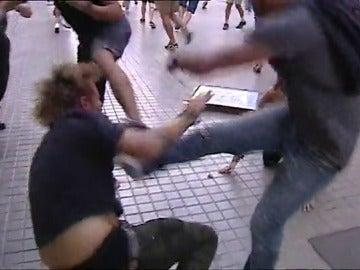 Agresiones el 9 de octubre en Valencia