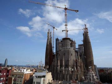Vista de la Sagrada Familia