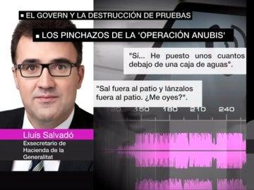El exsecretario de Hacienda de la Generalitat Lluís Salvadó