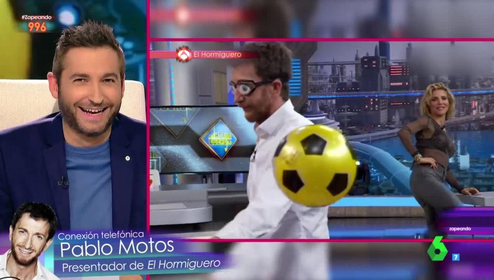 La entrevista sorpresa de Frank Blanco a Pablo Motos