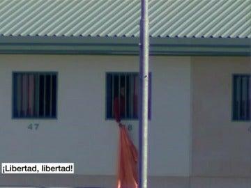 Un inmigrante pide libertad desde la cárcel de Archidona
