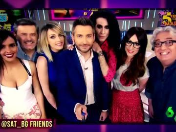 La felicitación a Zapeando por sus 1.000 programas al más puro estilo Friends