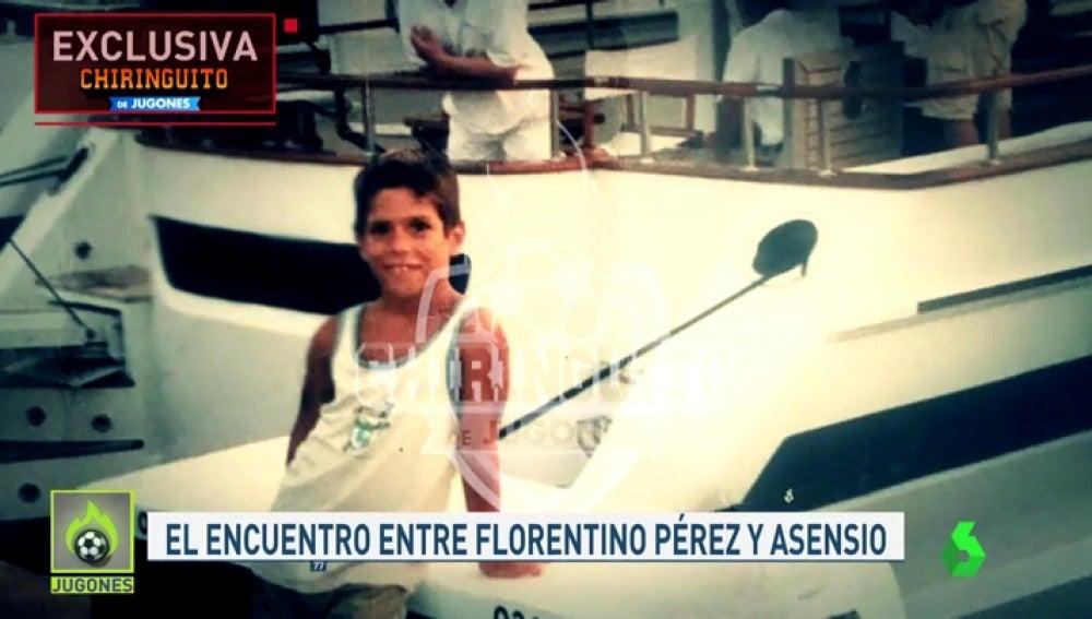 El premonitorio encuentro entre Florentino Pérez y Marco Asensio en Mallorca hace 12 años
