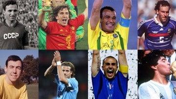 Las siete leyendas que ejercerán de ayudantes en el sorteo del Mundial