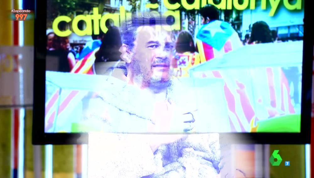 Miki Nadal aparece en forma de holograma en Zapeando