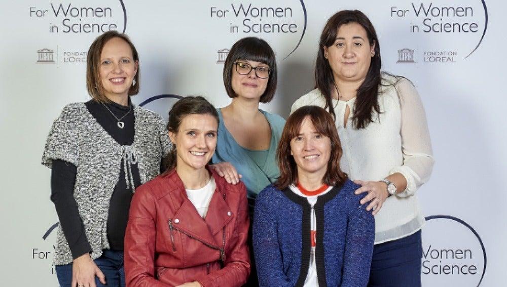 Cinco investigadoras espanolas reciben el premio L Oreal Unesco