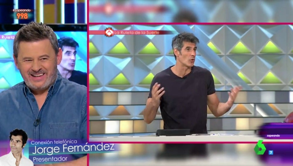Miki Nadal y Jorge Fernández