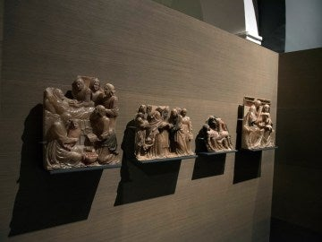 Retablo de Santa Ana, una de las 44 piezas de Villanueva de Sijena