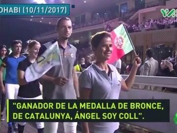 Polémica en un torneo de hípica: seis jinetes españoles se presentan como catalanes y eluden la bandera