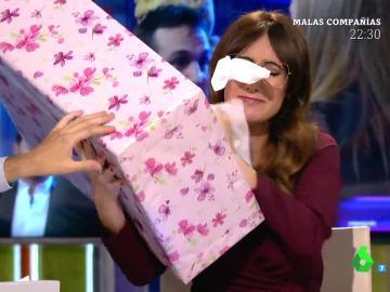 Ana Morgade, emocionada