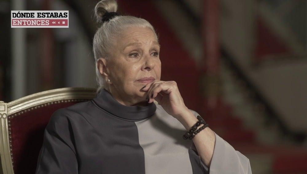 Lola Herrera rememora el primer minuto de 'Cinco horas con Mario'