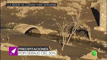 Las lluvias no ayudan a frenar la sequía.