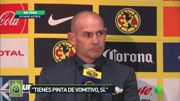 """Paco Jémez a un periodista: """"Tienes pinta de vomitivo, sí"""""""