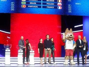 Ensayo del sorteo del Mundial de Rusia