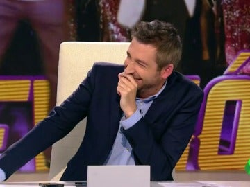 "Cristina Pedroche acusa a Frank Blanco de ""pensar en Miki"" cada vez que dice 'El Gordo' de Navidad."