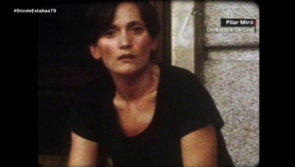 Pilar Miró en 1979