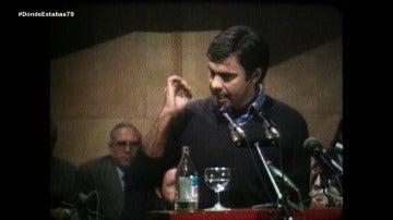 Felipe González en 1979