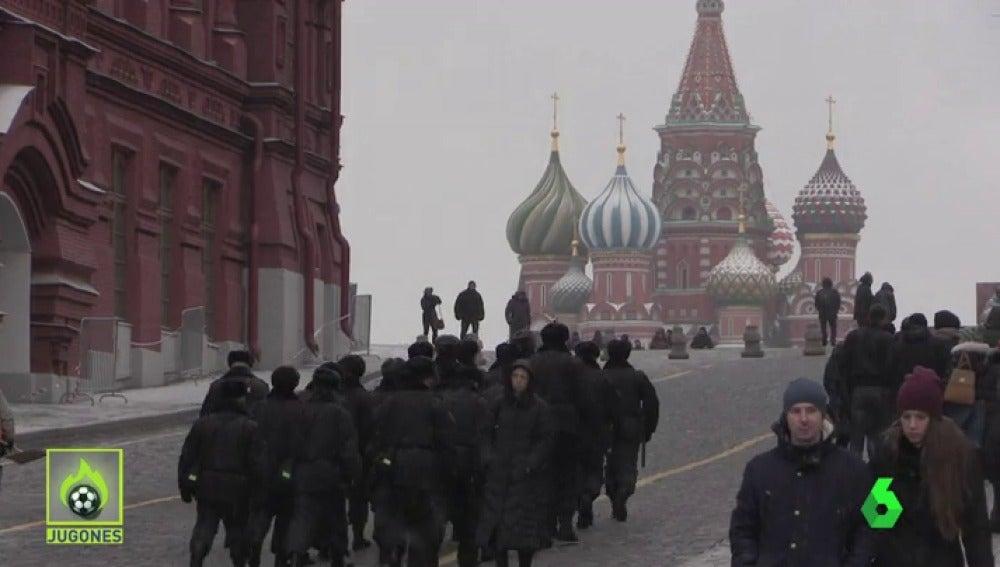 Moscú se blinda antes del sorteo del Mundial de Rusia