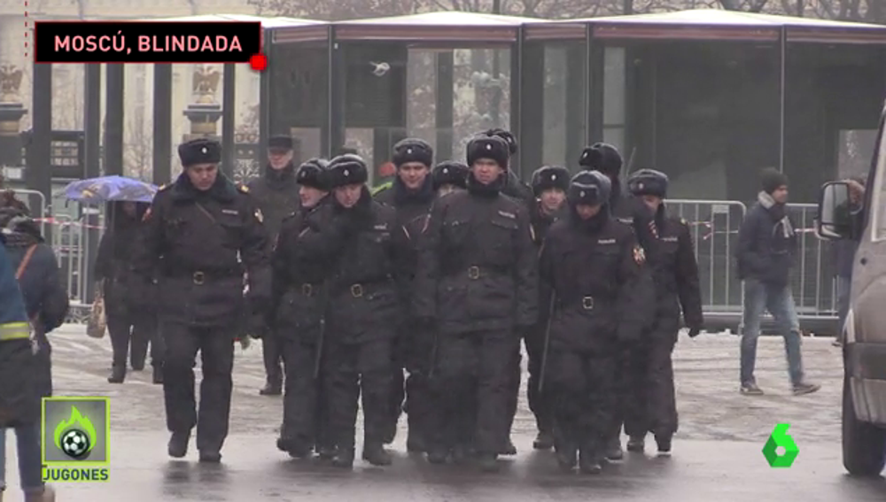 Moscú se blinda para el sorteo del Mundial