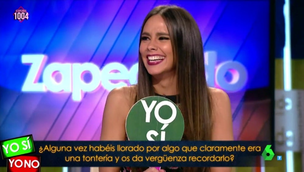 """Cristina Pedroche se enfada con ella misma y llora: """"¡No encuentro el sujetador que quiero!"""""""