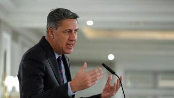 El candidato del PP a la Alcaldía de Badalona, Xavier García Albiol